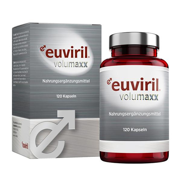 euviril volumaxx - Gefäßaktivator zur natürlichen Penisvergrößerung ohne operativen Eingriff